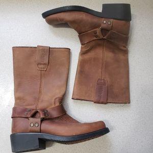 RIO GRANDE Moto Boots Brown size 37